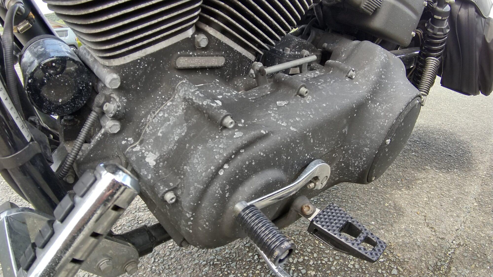 エンジンの汚れ